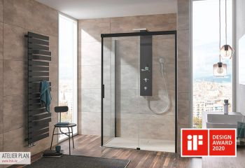 Duschen mit Loft-Feeling
