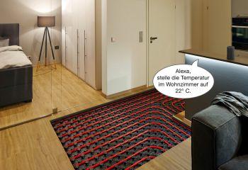 Über Sprachbefehle die Fußbodenheizung steuern